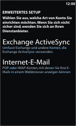 Nokia Lumia 800 - E-Mail - Konto einrichten - Schritt 8