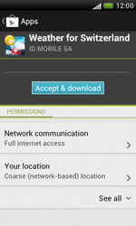 HTC Desire X - Applications - Installing applications - Step 15