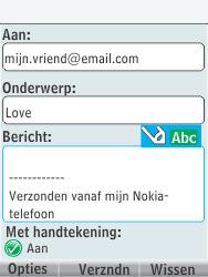Nokia 301-1 - E-mail - E-mails verzenden - Stap 11