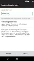 HTC Desire 610 - Premiers pas - Créer un compte - Étape 32