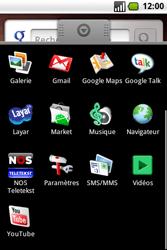 Samsung I7500 Galaxy - Messagerie vocale - configuration manuelle - Étape 4