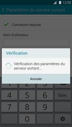 Samsung G900F Galaxy S5 - E-mail - Configurer l