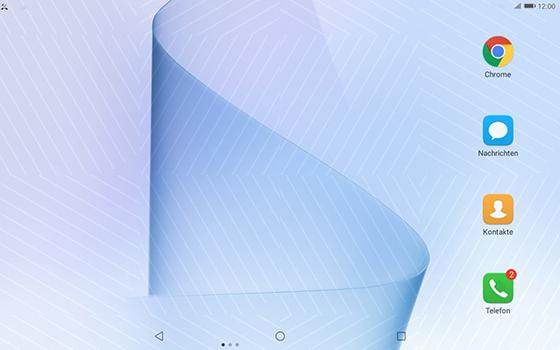 Huawei MediaPad T3 (10.0) LTE - Anrufe - Anrufe blockieren - 2 / 12