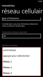 HTC Windows Phone 8X - Réseau - utilisation à l'étranger - Étape 12