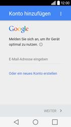 LG Leon 3G - Apps - Konto anlegen und einrichten - 4 / 20