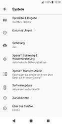 Sony Xperia XZ2 Compact - Fehlerbehebung - Handy zurücksetzen - 7 / 12