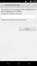 Sony Xperia T - E-Mail - Manuelle Konfiguration - Schritt 16
