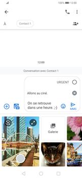 Huawei P Smart Z - Contact, Appels, SMS/MMS - Envoyer un MMS - Étape 12