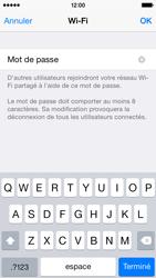 Apple iPhone 5 (iOS 8) - Internet et connexion - Partager votre connexion en Wi-Fi - Étape 8