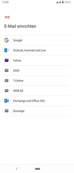 Sony Xperia 5 - E-Mail - Manuelle Konfiguration - Schritt 8
