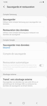 Samsung Galaxy S20+ - Aller plus loin - Gérer vos données depuis le portable - Étape 9