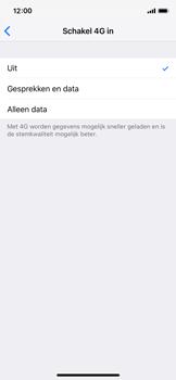 Apple iPhone X - iOS 12 - 4G instellen  - Toestel instellen voor 4G - Stap 6