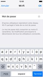Apple iPhone SE - Internet et connexion - Partager votre connexion en Wi-Fi - Étape 6