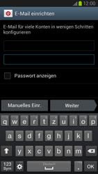 Samsung Galaxy S III LTE - E-Mail - Manuelle Konfiguration - Schritt 6