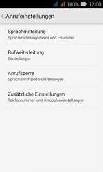 Huawei Y3 - Anrufe - Rufumleitungen setzen und löschen - Schritt 6