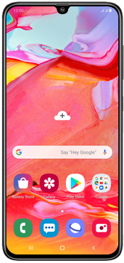 Samsung Galaxy A70 - Mobile phone - How to perform a soft reset - Step 2