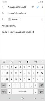Samsung Galaxy A41 - E-mails - Envoyer un e-mail - Étape 10