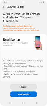 Samsung Galaxy S20 Plus 5G - Software - Installieren von Software-Updates - Schritt 7