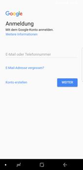 Samsung Galaxy S9 - Apps - Konto anlegen und einrichten - 4 / 21