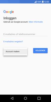 LG Q6 - apps - account instellen - stap 4