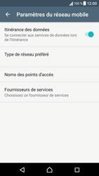 Sony Xperia XA - Internet et roaming de données - Désactivation du roaming de données - Étape 6