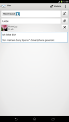Sony Xperia Z Ultra LTE - E-Mail - E-Mail versenden - 1 / 1