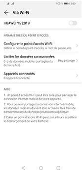 Huawei Y5 (2019) - Internet et connexion - Partager votre connexion en Wi-Fi - Étape 6