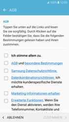 Samsung Galaxy S7 - Datenschutz und Sicherheit - Samsung einrichten - 13 / 18