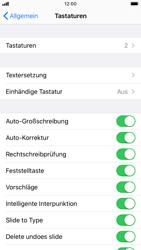 Apple iPhone 6s - iOS 13 - Startanleitung - So fügen Sie eine Tastatursprache hinzu - Schritt 5