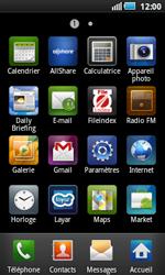 Samsung I5800 Galaxy Apollo - E-mail - Configurer l