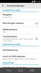 Huawei Ascend P7 - Anrufe - Rufumleitungen setzen und löschen - 1 / 1