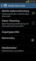 Samsung S7580 Galaxy Trend Plus - Ausland - Im Ausland surfen – Datenroaming - Schritt 8