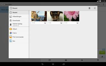 Sony Xperia Tablet Z2 (SGP521) - MMS - afbeeldingen verzenden - Stap 15