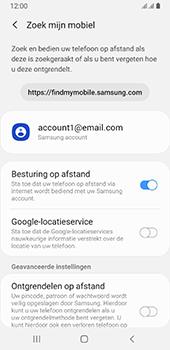 Samsung galaxy-a8-2018-sm-a530f-android-pie - Beveiliging en ouderlijk toezicht - Zoek mijn mobiel inschakelen - Stap 7