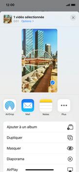Apple iPhone 11 Pro - Photos, vidéos, musique - Créer une vidéo - Étape 14