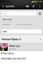 HTC Desire 601 - e-mail - hoe te versturen - stap 17