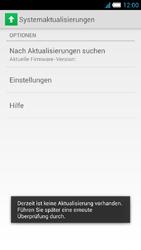 Alcatel One Touch Idol S - Software - installieren von Software-Updates - Schritt 9