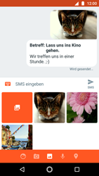Motorola Moto G5s - MMS - Erstellen und senden - 0 / 0