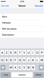 Apple iPhone 5s iOS 8 - E-mail - 032b. Email wizard - Yahoo - Étape 9