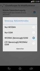 Sony Xperia M2 - Netzwerk - Netzwerkeinstellungen ändern - 7 / 8