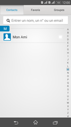Sony Xperia E4g - Contact, Appels, SMS/MMS - Envoyer un SMS - Étape 7