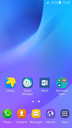 Samsung Samsung Galaxy J3 2016 - Getting started - Installing widgets and applications on your start screen - Step 3