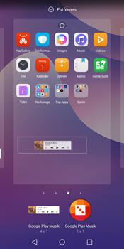 Huawei Y7 (2018) - Startanleitung - Installieren von Widgets und Apps auf der Startseite - Schritt 9