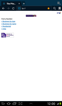 Samsung P3100 Galaxy Tab 2 7-0 - Internet - Internet browsing - Step 10