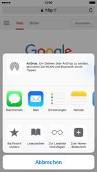 Apple iPhone 6s - Internet und Datenroaming - Verwenden des Internets - Schritt 7