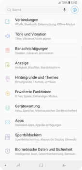 Samsung Galaxy Note9 - WiFi - WiFi-Konfiguration - Schritt 4