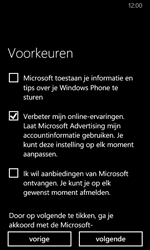 Nokia Lumia 635 - Applicaties - Account aanmaken - Stap 20
