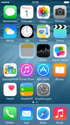 Apple iPhone 5s - iOS 8 - Startanleitung - Personalisieren der Startseite - Schritt 4