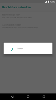 Huawei Nexus 6P - Android Oreo - Netwerk - Handmatig een netwerk selecteren - Stap 8