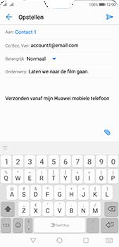 Huawei P20 Pro - E-mail - E-mails verzenden - Stap 8